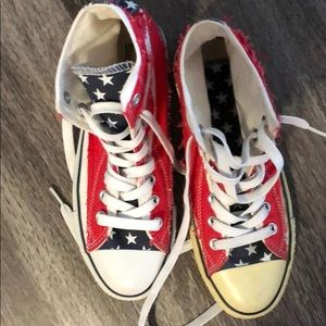 Shoes - American flag shoes